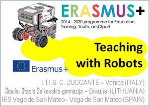 """Projektas """"Mokymas su robotais"""" (""""Teaching with robots"""")"""